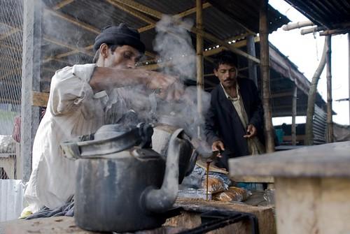 Winter Morning Tea Stall