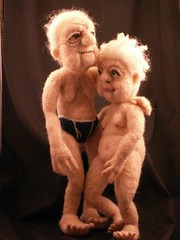 Young Love - Needle Felted Art Dolls photo by feltalive