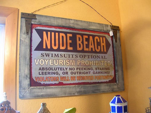 I have been nude on the beach, but it wasn't an official nude beach...does ...