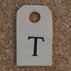 Wooden Tag T