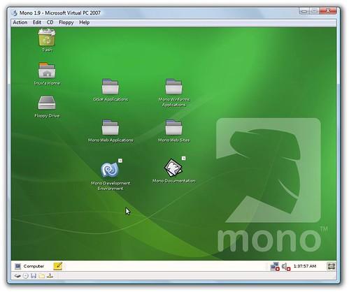 Mono 1.9 in VirtualPC
