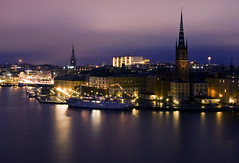 Stockholm by Night photo by diesmali