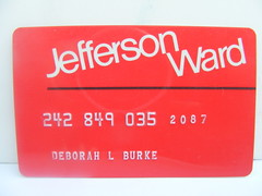 Jefferson Ward Credit Card! photo by slade1955
