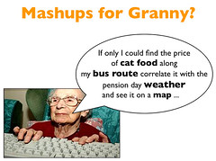 Granny wants to Mashup?