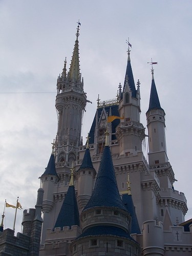 Cinderella Castle - Spires - Magic Kingdom - Walt Disney World