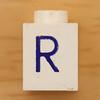 Vintage LEGO Letter R