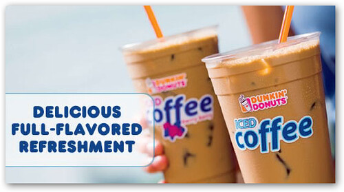 Dunkin' Donuts Free Iced Coffee