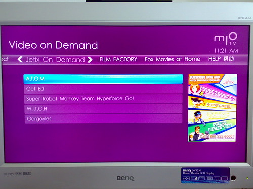Getting mio TV