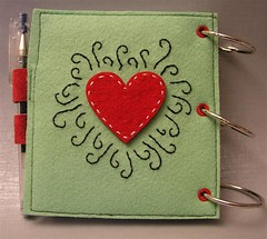 Felt Notebook photo by skubach