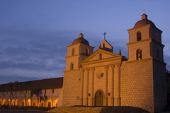 Santa Barbara Mission photo by Damian Gadal