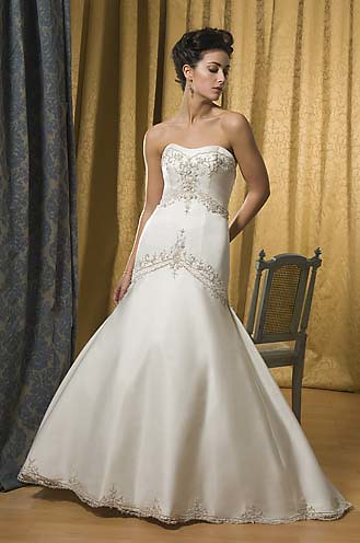 get a wedding dress with a variety