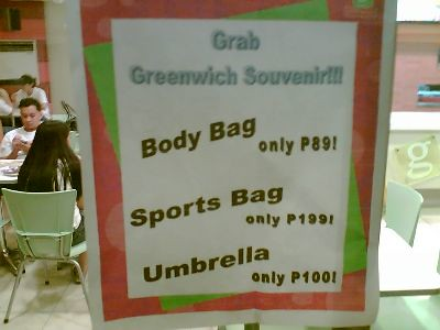 Greenwich Body Bag