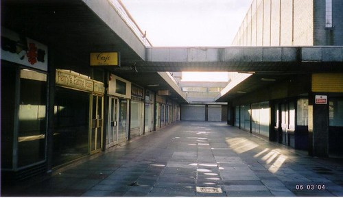 Deserted, Drake Circus Boardwalk, March 2004