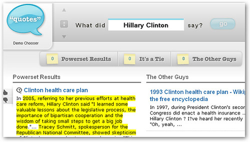 hillary clinton powerset