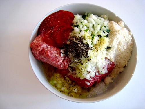 Meatloaf: The Ingredients, All of Them (by Slice)