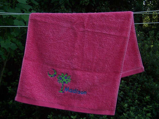 Embroidery Hand Sports Towel 171 Embroidery Amp Origami