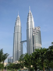 Kuala Lumpur is home to the tallest twin buildings in the world, the Petronas Twin Towers.