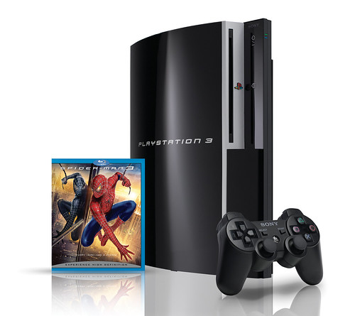 PS3 SpiderMan3-set (by You)