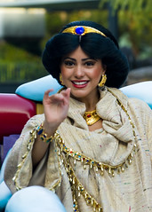 Princess Jasmine smiling photo by FrogMiller