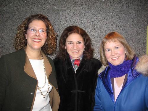Bev Moir, Armine Yalnizyan, and Kaarina Luoma