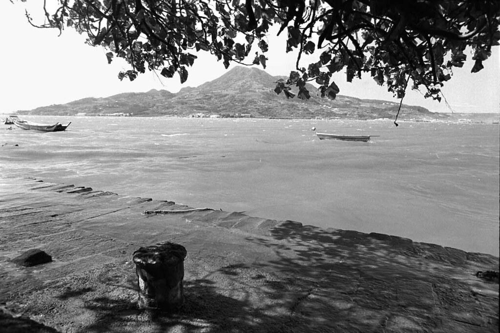 消逝的河邊景觀1990/09
