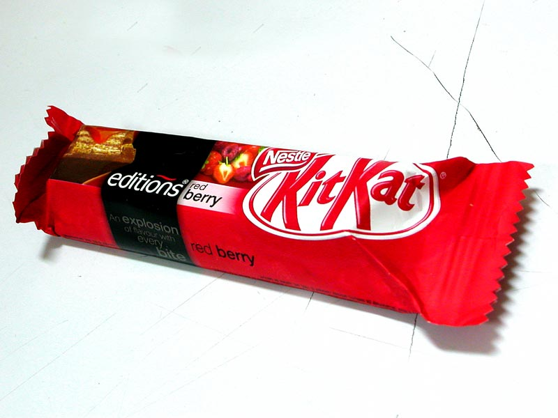 red berry kitkat