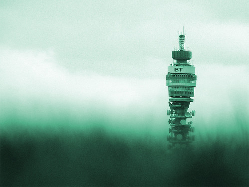 BT Tower From Primrose Hill