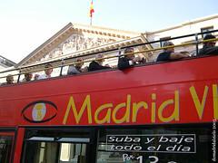 Madrileños de paso