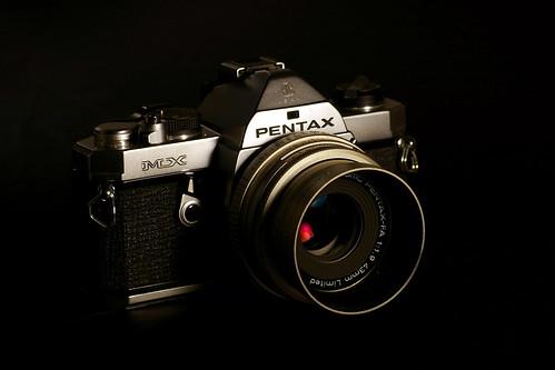 [轉貼]世界上最小的35mm單反相機Pentax MX