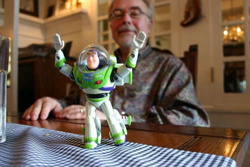 Step-dad and Buzz