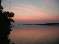 Sunrise at the Cottage on Clear Lake