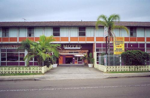 Purple & Orange Motel