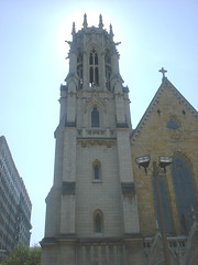 Christ Church Cathedral belltower from 13th street
