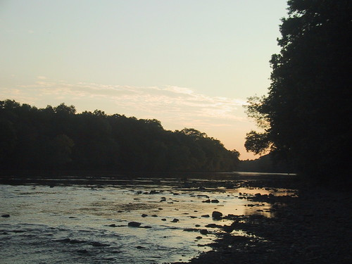 Raritan River at Sunset