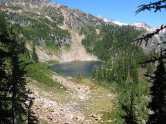 First View of Massie Lake