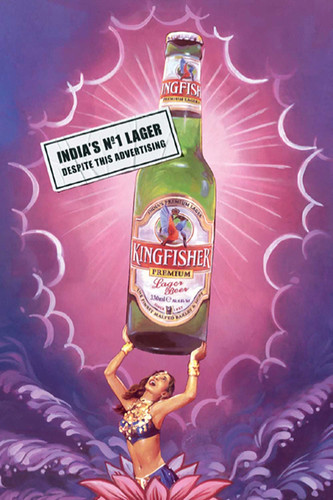 Best london advert from JWT for Kingfisher Indian beer