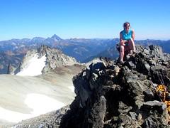 Summit of Mt Daniel