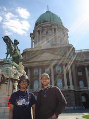 Di Royal Palace, Budapest, Hungary