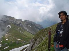Kat Atas Mount Pilatus, Lucerne, Switzerland