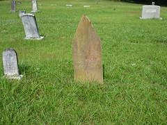 Monument with Tree Design ... Black Oak Cemetery, Dekalb County AL