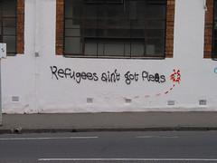 refugees ain't got fleas