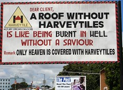 A Roof Without Harvey Tiles is like Being Burnt in Hell Without a Saviour
