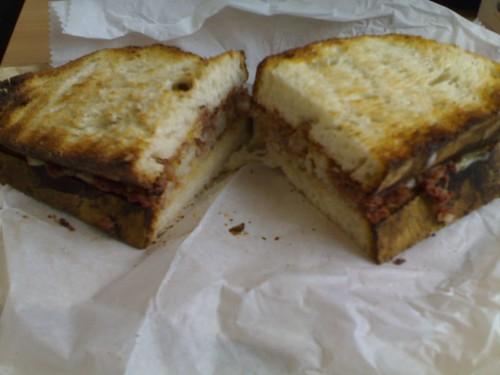 Corned Beef Hash Sandwich