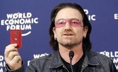 Bono at Davos