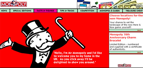 Choose Locations for New Monopoly Board