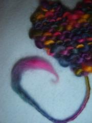 Coração com cor