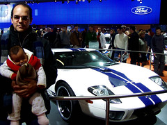 European Autoshow Brussels - Daniela, I and the Ford GT