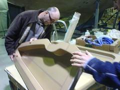 Calder teflon mould