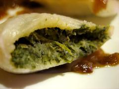 spinach innards