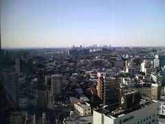 千葉の町を見下ろして3